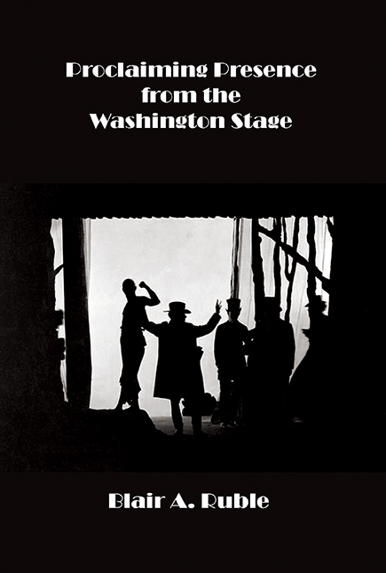 PROCLAIMING PRESENCE FROM THE WASHINGTON STAGE